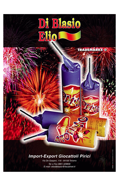poster vintage- ATOMYC originali N° 3 50x70 1